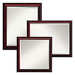 Amanti Rubino Large Wall Mirror in Cherry Scoop