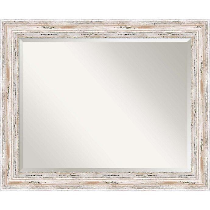Alternate image 1 for 27-Inch x 33-Inch Alexandria Bathroom Mirror in Whitewash
