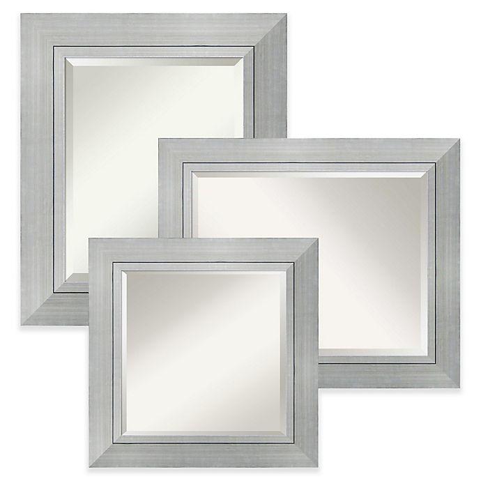 Alternate image 1 for Amanti Art Romano Wall Mirror in Silver