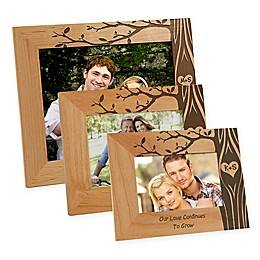 Carved In Love Picture Frame