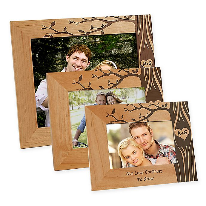 Alternate image 1 for Carved In Love Picture Frame
