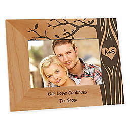 Carved In Love 4-Inch x 6-Inch Picture Frame