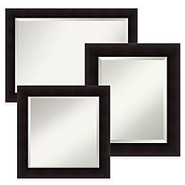 Amanti Art Portico Mirror in Espresso