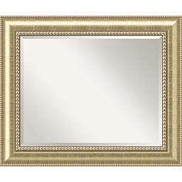 Astoria Large Bathroom Mirror in Champagne