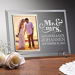 The Happy Couple Personalized Reflections Frame