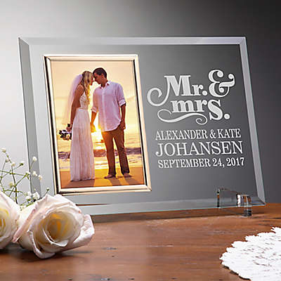 Personalized Wedding Picture Frames Photo Albums Bed Bath Beyond