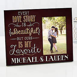 Love Story Couple Picture Frame
