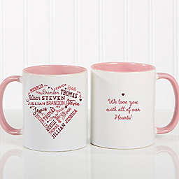 Close to Her Heart Coffee Mug