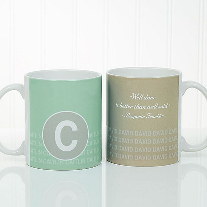 Alternate image 1 for Sophisticated Quotes 11 oz. Coffee Mug in White