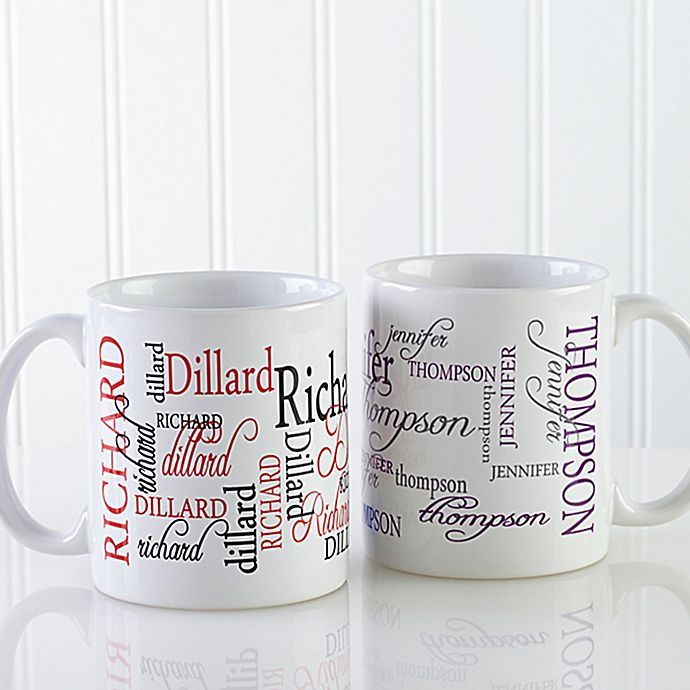 Alternate image 1 for Signature Style 11 oz. Coffee Mug in White
