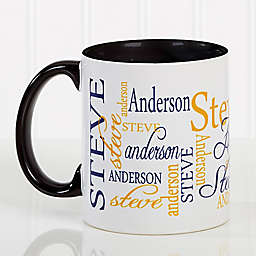 Signature Style 11 oz. Coffee Mug in Black