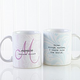 Name Meaning 11 oz. Coffee Mug in White