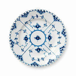 Royal Copenhagen Fluted Full Lace Bread and Butter Plate in Blue