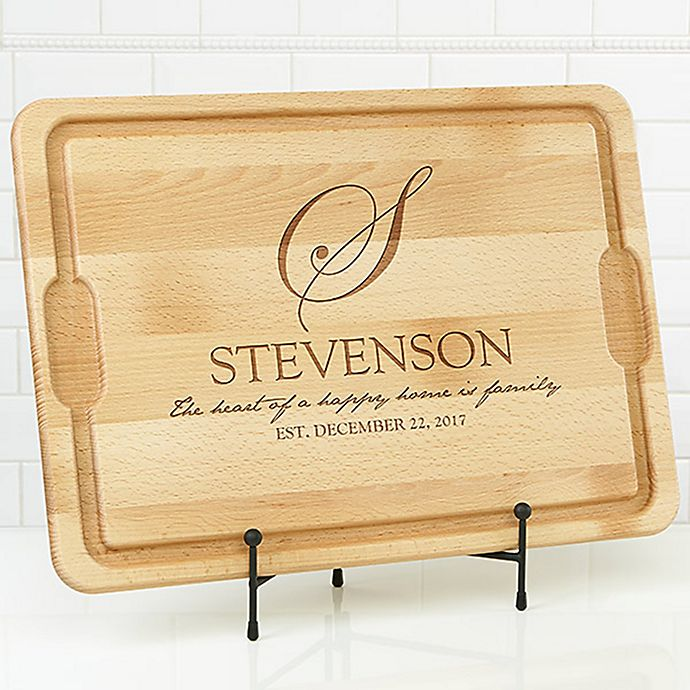 Alternate image 1 for Heart of Our Home 15-Inch x 21-Inch Cutting Board in Maple