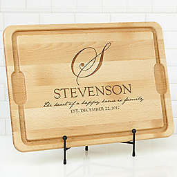 Heart of Our Home 15-Inch x 21-Inch Cutting Board in Maple
