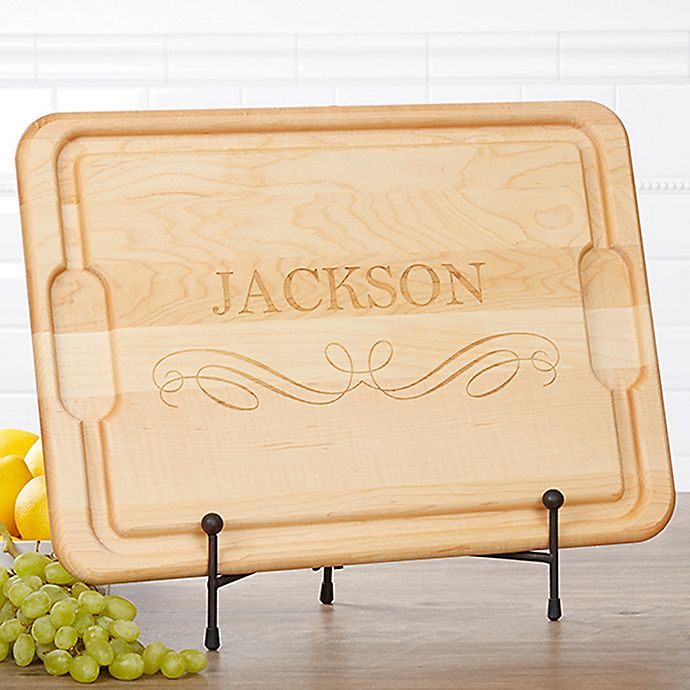 Alternate image 1 for Classic Kitchen 15-Inch x 21-Inch Cutting Board in Maple