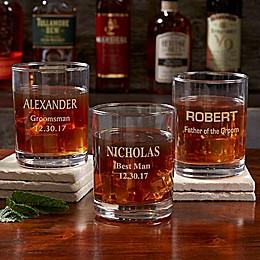 Groomsmen 14 oz. Whiskey Glass
