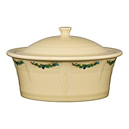 Fiesta® Christmas 90 oz. Covered Casserole Dish