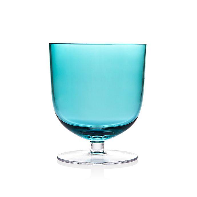 Alternate image 1 for Godinger Rondo Stemmed Tumblers in Sea Blue (Set of 4)