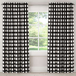Skyline Furniture Buffalo Square Rod Pocket/Back Tab Window Curtain Panel