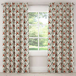 Skyline Furniture Tiger Bamboo Rod Pocket/Back Tab Window Curtain Panel