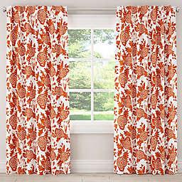 Skyline Furniture Garden Bird Rod Pocket/Back Tab Room Darkening Window Curtain Panel