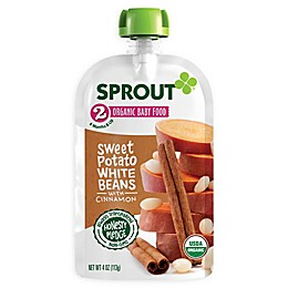 Sprout® 4-Ounce Stage 2 Organic Baby Food in Sweet Potato and White Beans
