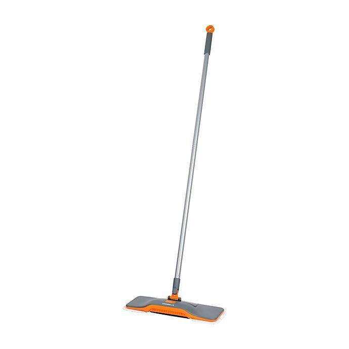 Alternate image 1 for Casabella® Floor Duster and Sweeper in Graphite/Orange