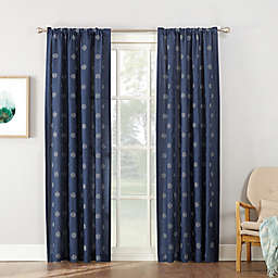 Maya Rod Pocket Window Curtain Panel