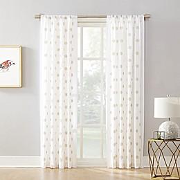 Maya Rod Pocket Window Curtain Panel