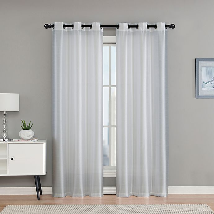 Alternate image 1 for VCNY Home Monroe 2-Pack Grommet Top Room Darkening Window Curtain Panels
