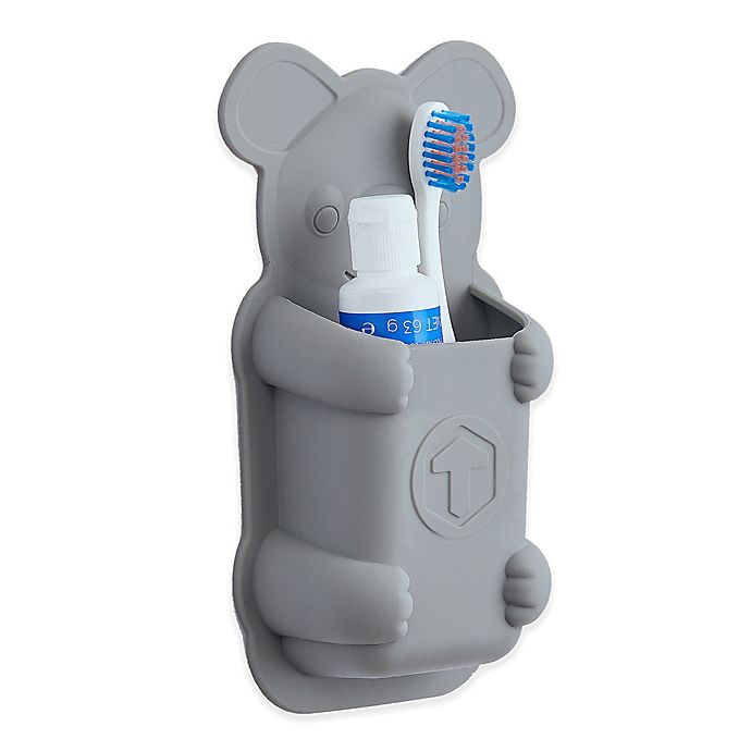 Tooletries Koala Pouch Silicone Toothbrush Holder Bed Bath Amp Beyond
