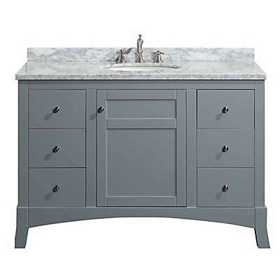 Eviva New York® 48-Inch Single Vanity in Grey/White