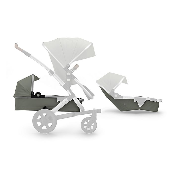 Alternate image 1 for Joolz Geo² Lower Bassinet and Seat in Elephant Grey
