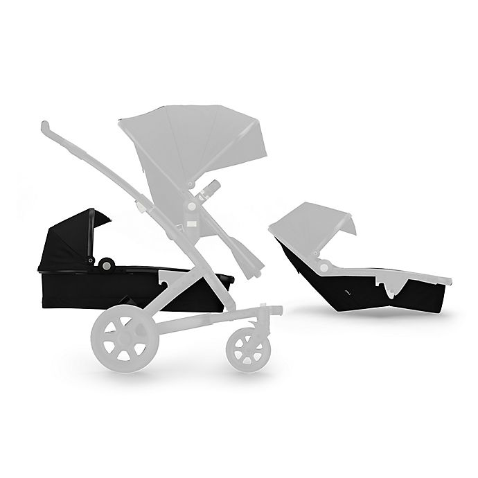 Alternate image 1 for Joolz Geo² Studio Lower Bassinet and Seat in Noir