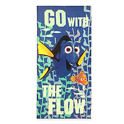 Disney® Dory Beach Towel in Blue