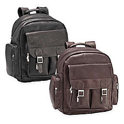 Piel® Leather 16-Inch Ultimate Travelers Laptop Backpack