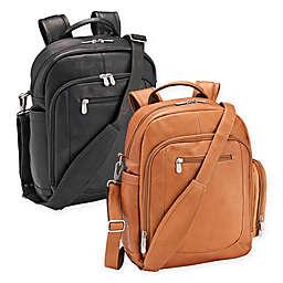 Piel® Leather 14.5-Inch Laptop Backpack/Shoulder Bag