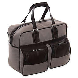 Piel® Leather Classic Carry On with Pockets in Chocolate