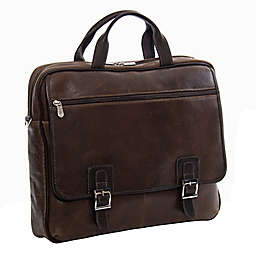 Piel® Leather 16-Inch Vintage Business Case in Vintage Brown