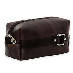 Piel® Leather Vintage Travel Kit in Brown