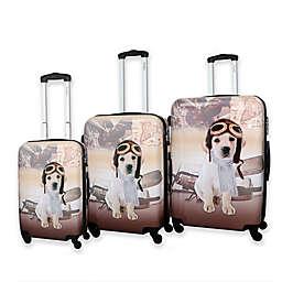 Chariot Oldies 3-Piece Luggage Set in Beige