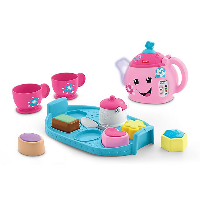 Alternate image 1 for Fisher-Price® Laugh & Learn® Sweet Manners Tea Set