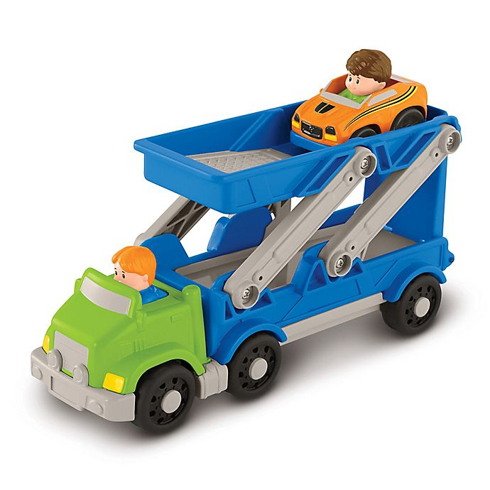 Alternate image 1 for Fisher-Price® Little People® Ramp 'n Go Carrier