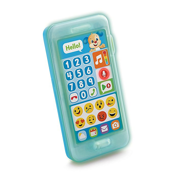 Alternate image 1 for Fisher-Price® Laugh & Learn® Leave A Message Smart Phone