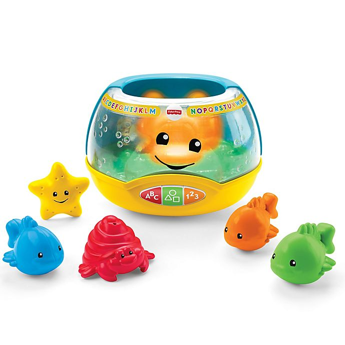 Alternate image 1 for Fisher Price® Laugh & Learn® Magical Lights Fishbowl