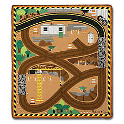 Melissa & Doug® Round the Site Construction Play Rug