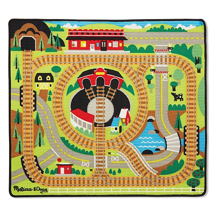 Doug Round The Rails Train Play Rug