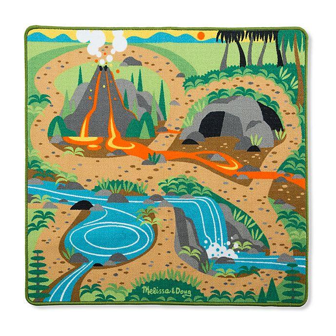 Alternate image 1 for Melissa & Doug® Prehistoric Playground Dinosaur Rug