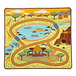 Melissa & Doug® Round the Savanna Safari Play Rug